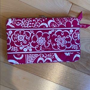 Vera Bradley Floral Wallet With Clasp